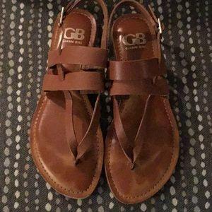 Gianni Bini tan leather sandals! Barely worn!
